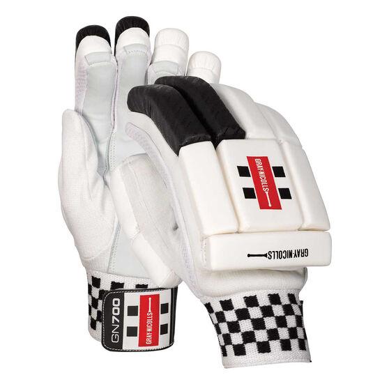Gray Nicolls GN 700 Cricket Batting Gloves, Black, rebel_hi-res