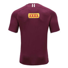 QLD Maroons State of Origin 2020 Mens Training Tee Maroon S, Maroon, rebel_hi-res