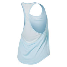 Under Armour Womens Mesh Back Tank Silver XS, Silver, rebel_hi-res
