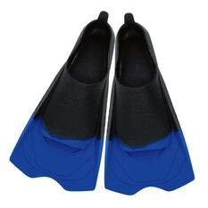 Zoggs Ultra Silicone Fins Black US 10 - 11, , rebel_hi-res