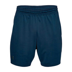 Under Armour Mens Mode Kit 1 Training Shorts Navy XS, Navy, rebel_hi-res
