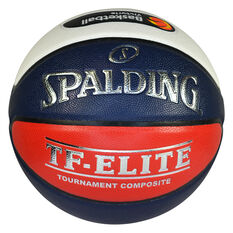 Spalding TF - Elite - OFFICIAL GAME BALL MUVJBL Basketball Multi 6, Multi, rebel_hi-res