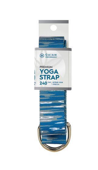Gaiam Marbled Yoga Strap, , rebel_hi-res