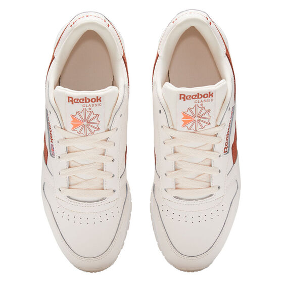 Reebok Classic Leather Womens Casual Shoes, Pink/White, rebel_hi-res