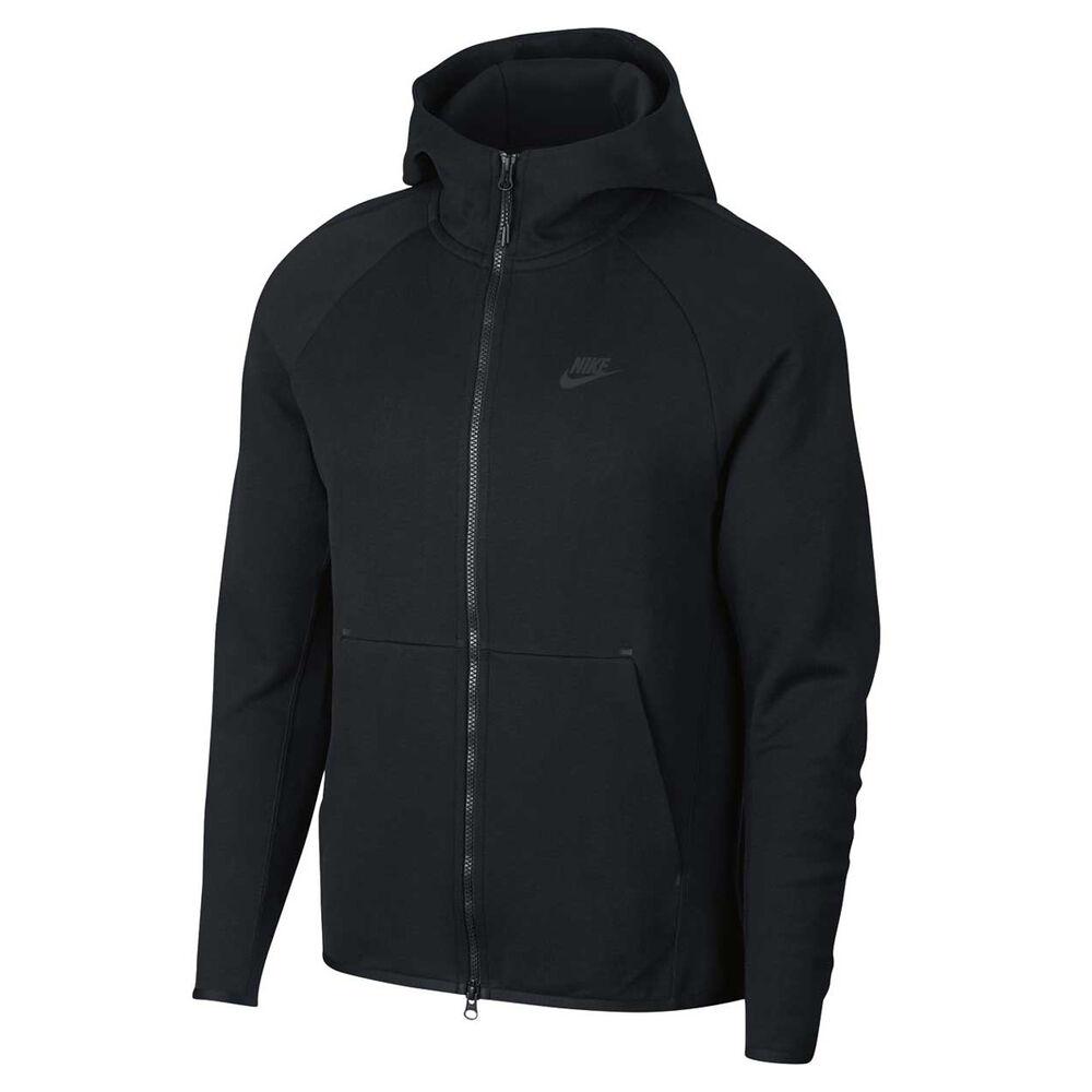 Nike Mens Sportswear Tech Fleece Hoodie Black Small Rebel Sport