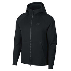 Nike Mens Sportswear Tech Fleece Hoodie Black XS, Black, rebel_hi-res