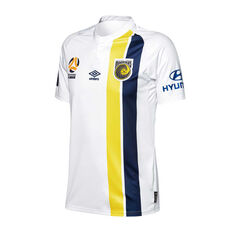 Central Coast Mariners 2018 / 19 Mens 3rd Jersey White / Navy S, White / Navy, rebel_hi-res