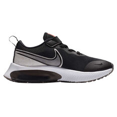 Nike Zoom Arcadia SE Kids Running Shoes Black/White US 11, Black/White, rebel_hi-res