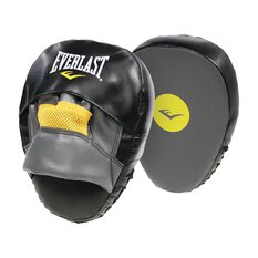 Everlast Impact Punch Mitts Black, , rebel_hi-res