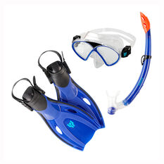 Tahwalhi Junior Dive Set Blue S / M, Blue, rebel_hi-res