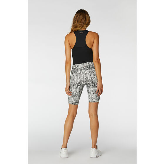 L'urv Womens Luminosity Bike Shorts White S, White, rebel_hi-res