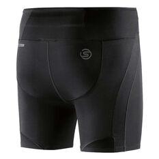 Skins Womens DNAmic Ultimate Shorts Black XS, Black, rebel_hi-res