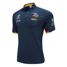 Adelaide Crows 2020 Mens Performance Polo Navy S, Navy, rebel_hi-res