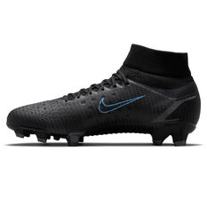 Nike Mercurial Superfly 8 Pro Football Boots Black/Grey US Mens 4 / Womens 5.5, Black/Grey, rebel_hi-res