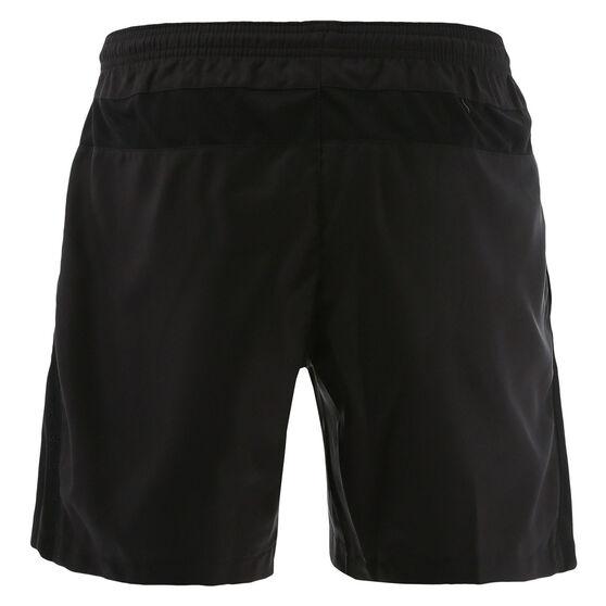 Penrith Panthers 2021 Kids Training Shorts Black 12, Black, rebel_hi-res