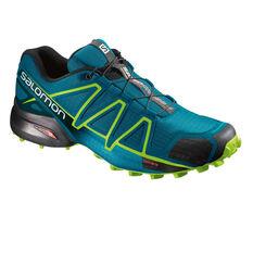 Salomon Speedcross 4 Mens Trail Trail Running Shoes Navy US 8, Navy, rebel_hi-res