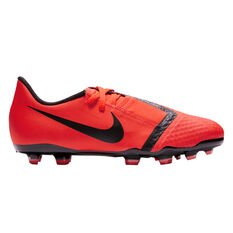 Nike Phantom Venom Academy Kids Football Boots Red / Silver US 1, , rebel_hi-res