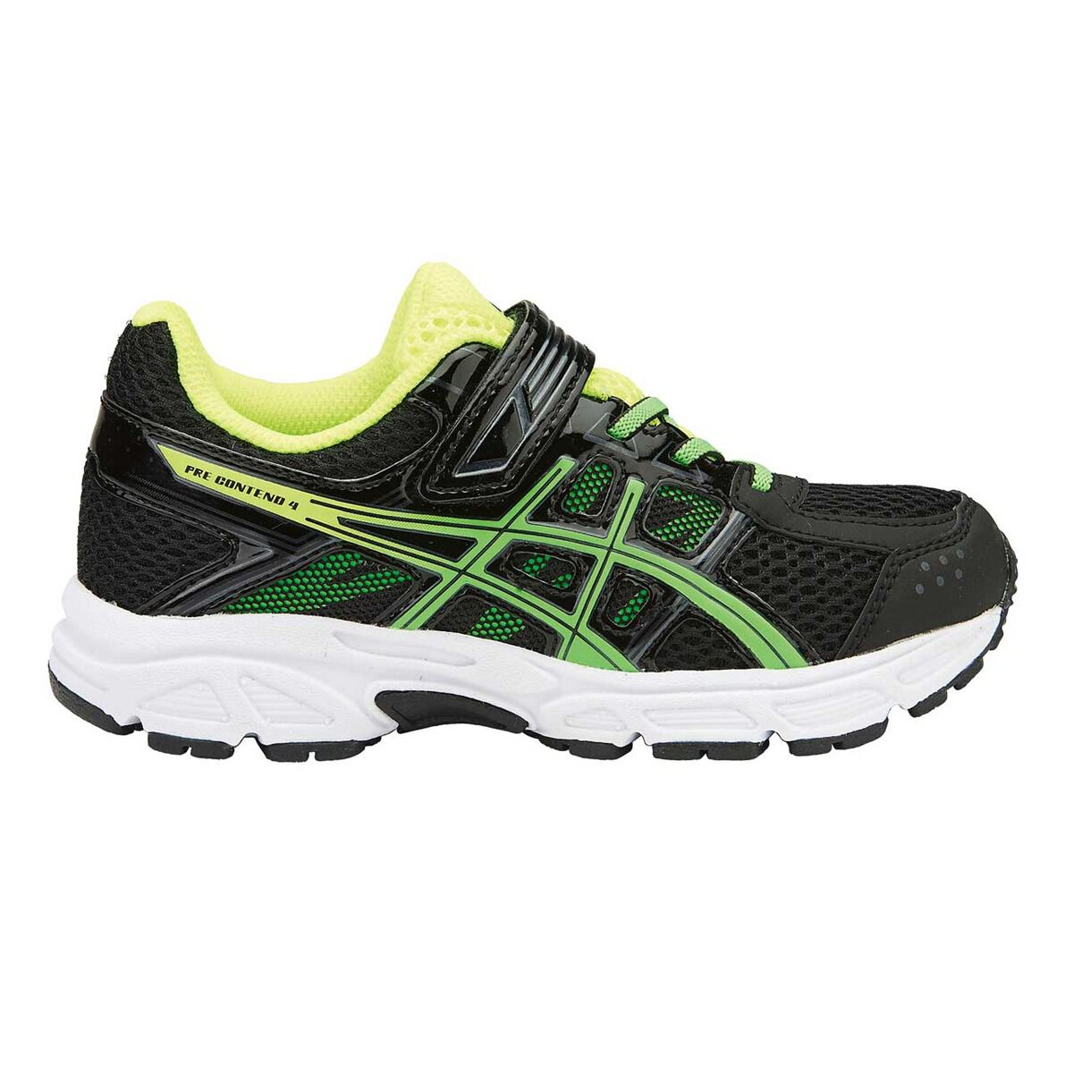 Chaussures de 8644 course Asics de Pre/ Contend 4 pour garçons Noir/ Vert US 11 | 59c7b55 - alleyblooz.info