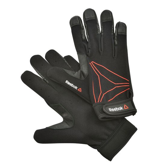 Reebok Delta Functional Training Glove Black L, Black, rebel_hi-res