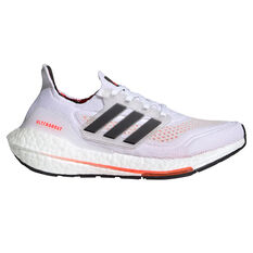 adidas Ultraboost 21 Kids Running Shoes White/Red US 4, White/Red, rebel_hi-res