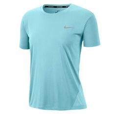 Nike Womens One 7/8 Tights Blue XS, Blue, rebel_hi-res