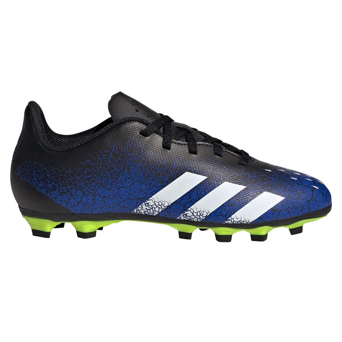 pelota adidas 2018 shoes black women sandals white | adidas Predator Freak .4 Kids Football Boots