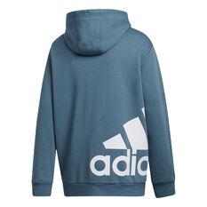 adidas Mens Post Game Hoodie Blue S, Blue, rebel_hi-res