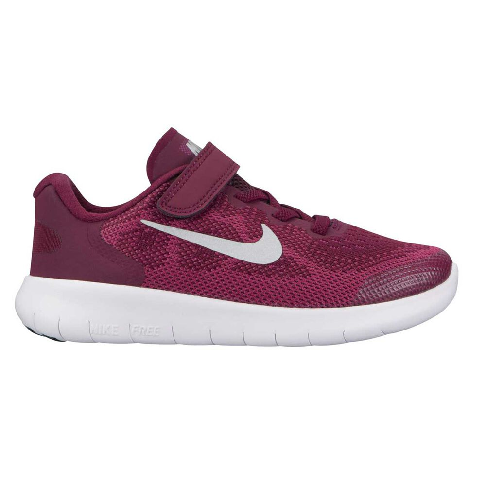 innovative design a44cb 26496 Nike Free Run 2017 Junior Girls Running Shoes Red   Grey US 11, Red