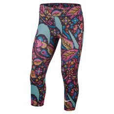 Nike Girls One Tights Multi XS, Multi, rebel_hi-res