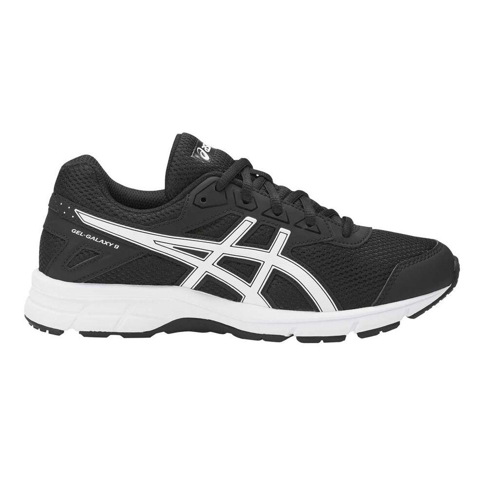 meet fa136 4fe4a Asics Gel Galaxy 9 Kids Running Shoes Black   White US 4, Black   White