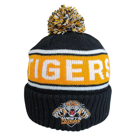 Wests Tigers Striker Beanie, , rebel_hi-res