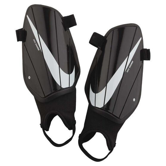 Nike Charge Shin Guards, Black / White, rebel_hi-res
