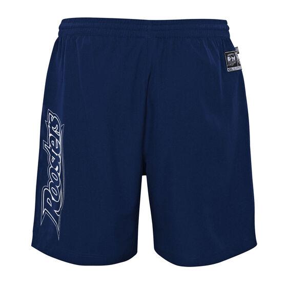 Sydney Roosters 2021 Mens Sports Shorts, Blue, rebel_hi-res