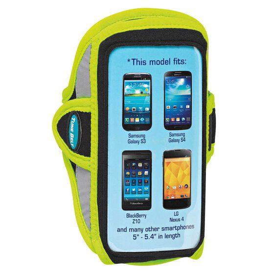Tune Belt Smart Phone 5.4in Sports Arm Band Yellow OSFA, Yellow, rebel_hi-res
