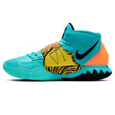 Nike Kyrie VI Mens Basketball Shoes Green/Black US 7, Green/Black, rebel_hi-res