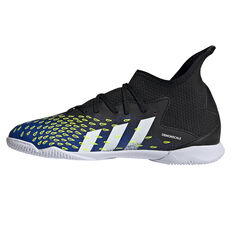 adidas Predator Freak .3 Kids Indoor Soccer Shoes Black US 13, Black, rebel_hi-res