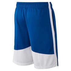 6dd9c0327e30 ... rebel hi Nike Boys Dry Dominate Training Shorts Blue   White XS