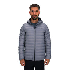 Macpac Mens Uber Light Hooded V2 Jacket Grey S, Grey, rebel_hi-res