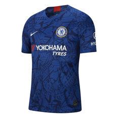 Chelsea FC 2019/20 Mens Home Jersey Blue S, Blue, rebel_hi-res