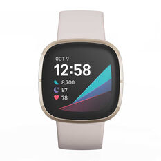 Fitbit Sense - Lunar White Gold, , rebel_hi-res