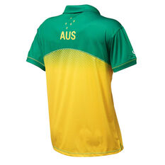 Australian Diamonds 2019 Mens Replica Polo Gold / Green S, Gold / Green, rebel_hi-res
