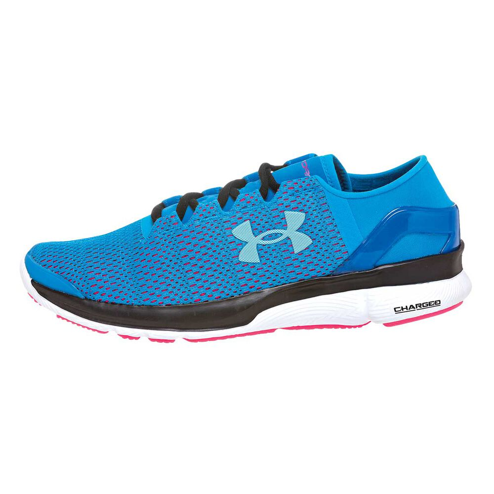 Under Armour Speedform Apollo 2 Womens Running Shoes Blue   White US ... 0af39ce2f4