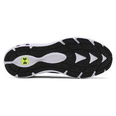 Under Armour HOVR Phantom 2 Mens Running Shoes, Black/White, rebel_hi-res