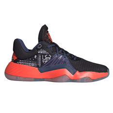adidas D.O.N Issue 1 Mens Basketball Shoes Black US 7, Black, rebel_hi-res