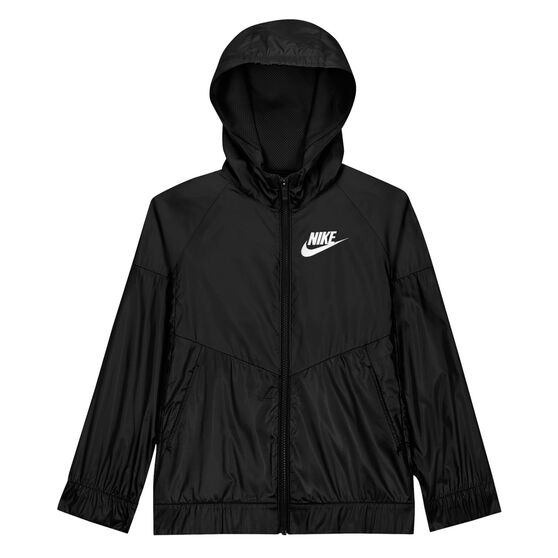 Nike Girls NSW Windrunner, Black, rebel_hi-res