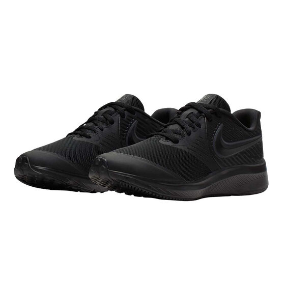 Nike Star Runner 2 Kids Running Shoes, Black, rebel_hi-res