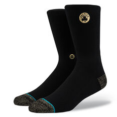 Stance Mens Boston Celtics Trophy Socks Black M, Black, rebel_hi-res