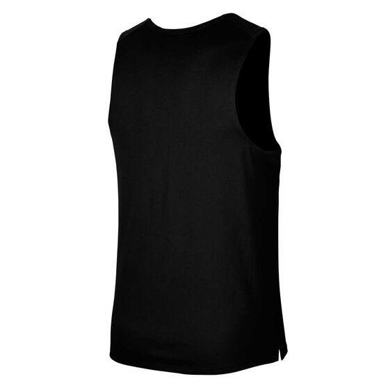 Nike Mens Dri-FIT Miler Wild Run Running Tank, Black, rebel_hi-res