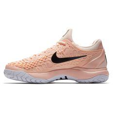 Nike Air Zoom Cage 3 Womens Tennis Shoes Orange / Black US 6.5, Orange / Black, rebel_hi-res
