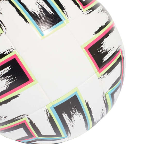 adidas Uniforia League Soccer Ball, White / Multi, rebel_hi-res
